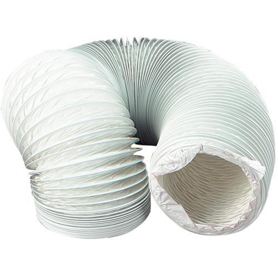Pvc Plastic Flexible Ventilation Ducting 100mm X 45m Manrose