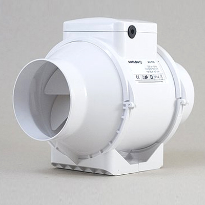 Airflow av100t airflow aventa 4 inch inline extractor fan with timer