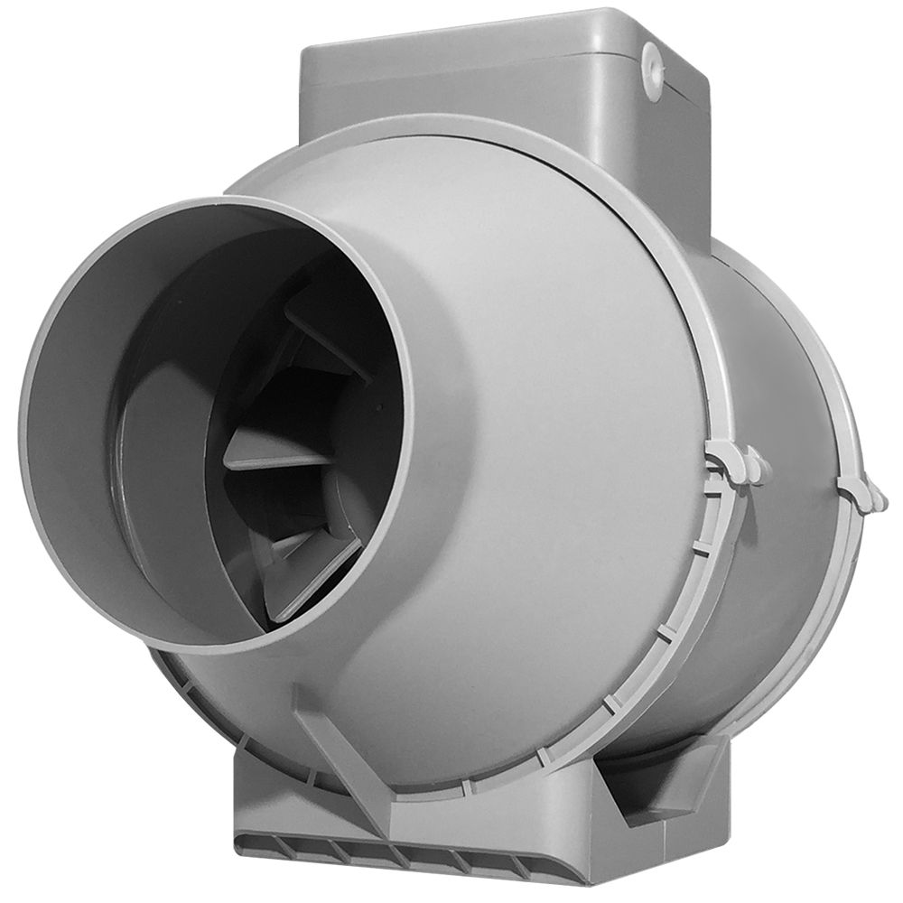 Bathroom Exhaust Fan 3 Inch Duct: Vents Turbo Tube Professional Inch Inline Extractor Fan