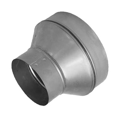 Metal 6 Inch To 4 Inch Ventilation Duct Reducer 370303