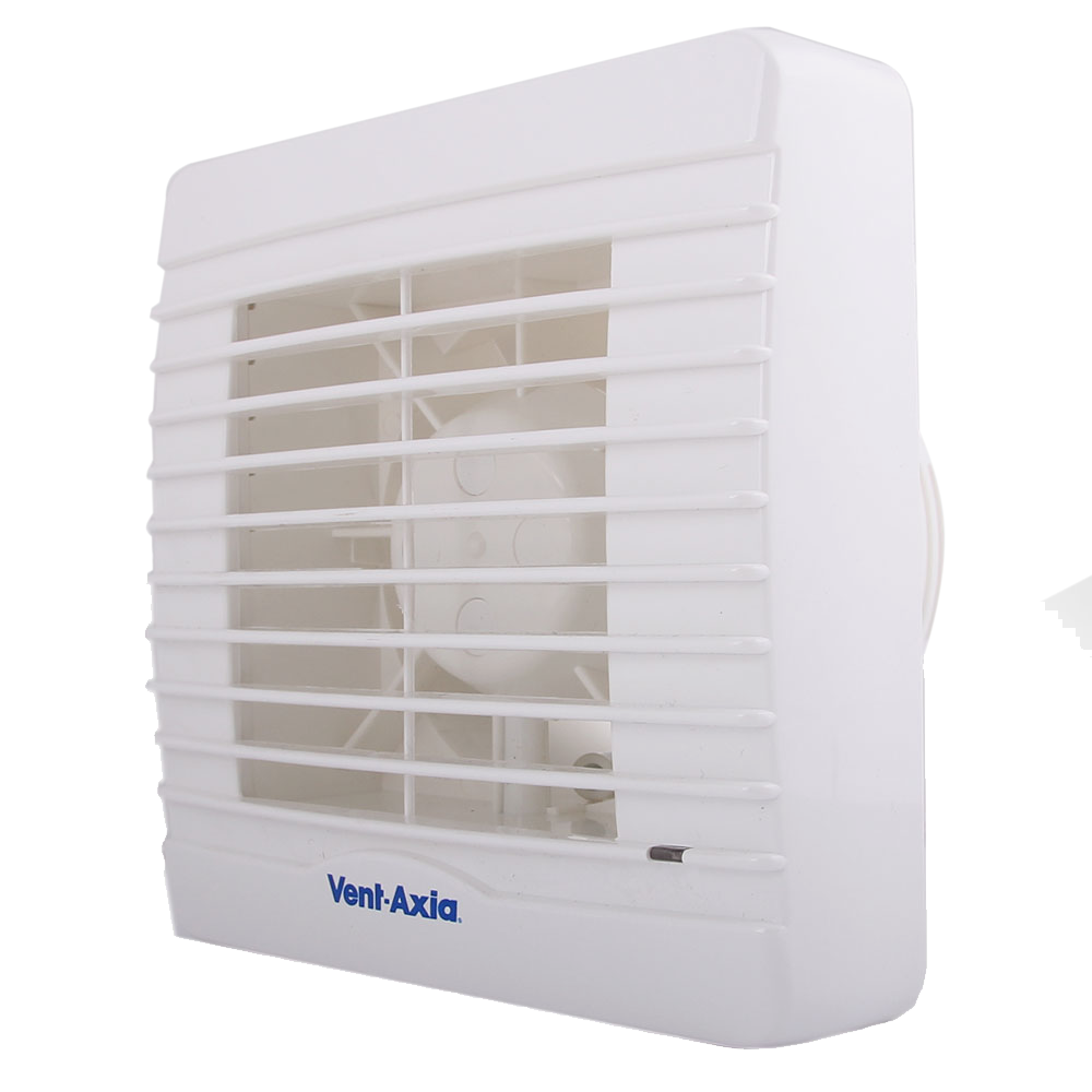 Vent axia va100xht 251510 bathroom fan humidistat timer - Solar powered extractor fan bathroom ...