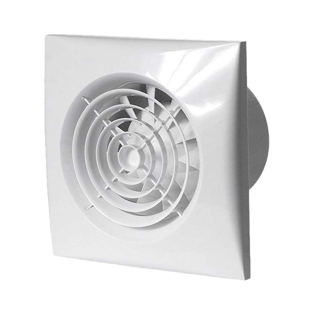 Bathroom extractor fans silent