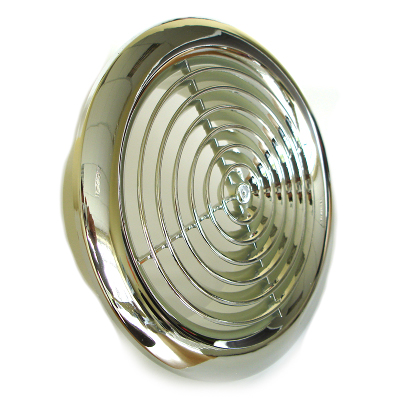 2150c Six Inch Internal Ventilation Grille In Chrome 150mm