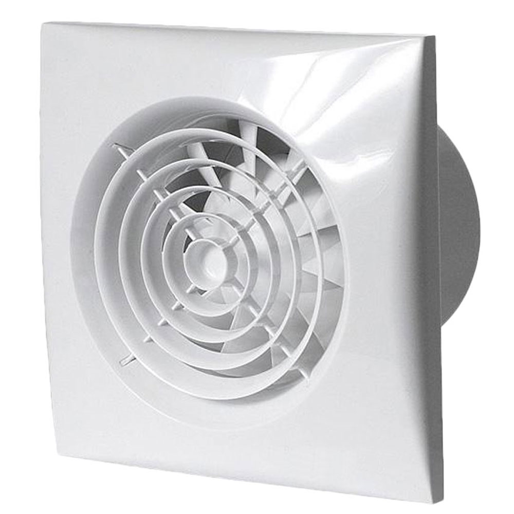 Kitchen Fan Humidity Timer Pull Cord Auto Manual Control Wall Light Switch Envirovent Sil150htp