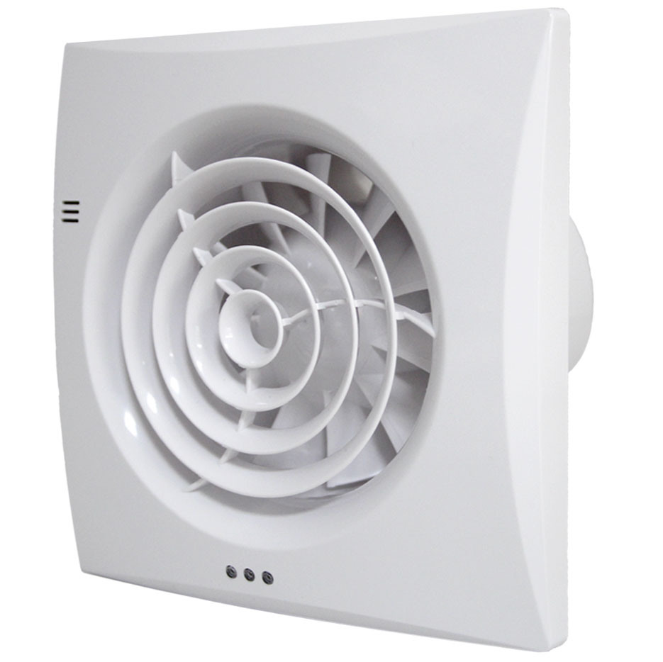 Silent Extractor Fan : Silent bathroom fan with pir motion sensor tornado